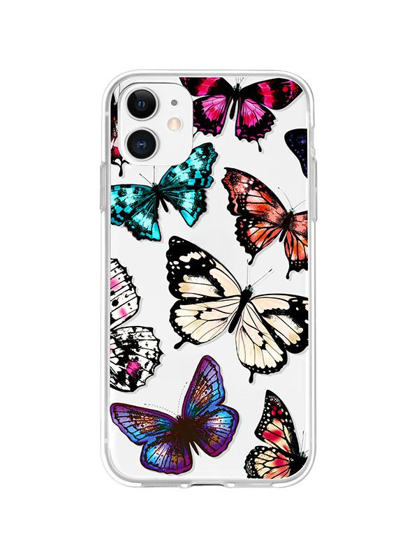 Butterfly Print TPU�Phone Case For IPhone
