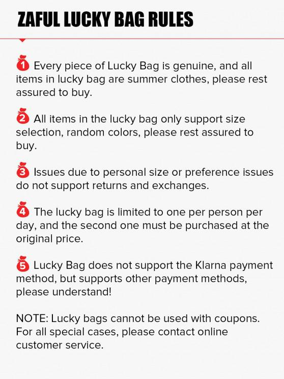 ZAFUL Lucky Bag - 5*All In Womenswear - Limited Quantity - Multi S