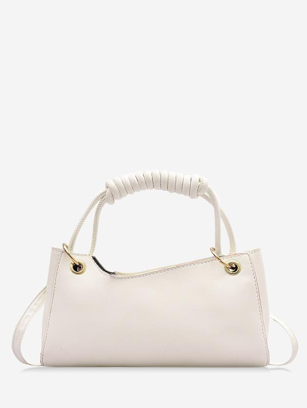 French Style Wrap Handle Handbag