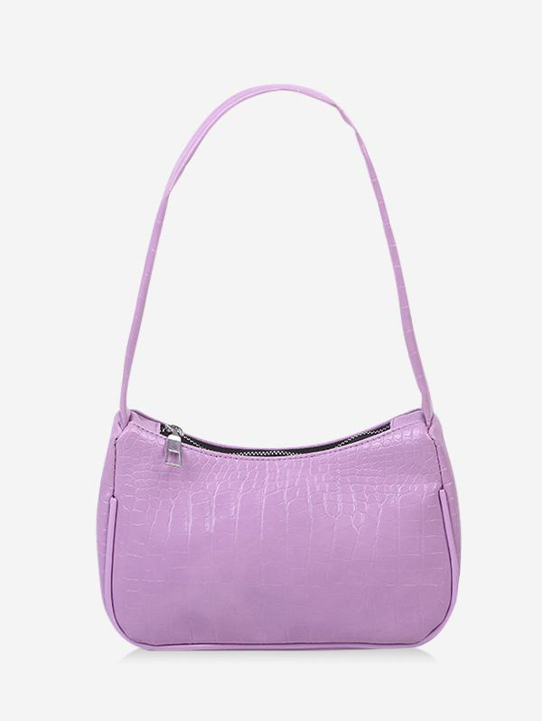 French Style Textured Shoulder Bag