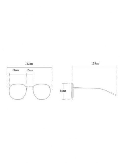 women Square Oversized Shield Sunglasses - BROWN  Mobile