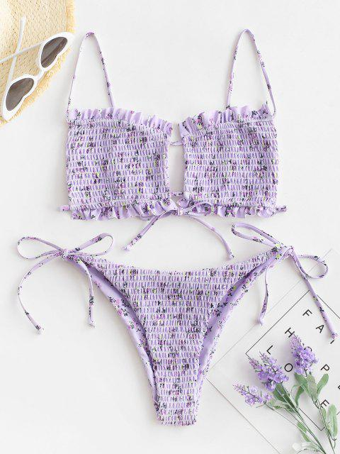 online ZAFUL Shirred On The Way - MAUVE M Mobile
