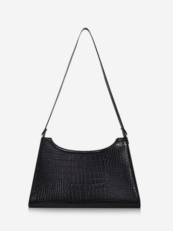 French Style Trapezoid Shoulder Bag