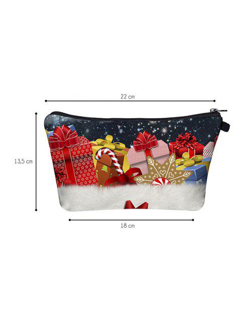 Weihnachtsgeschenke Gedruckte Schminken Tasche - Kastanie Rot  Mobile