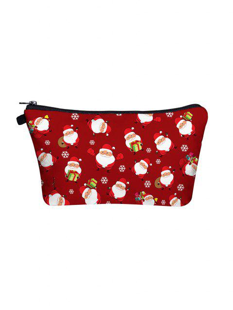 Bolsa Maquillaje Navidad Santa - Rojo  Mobile