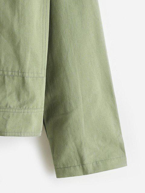 Veste Poche en Avant - Vert clair S Mobile