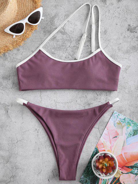 Costume da Bagno Bikini Ruvido di ZAFUL a Costine a Monospalla - Concordia S Mobile