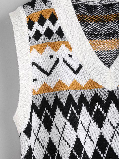 ジオミックスセーターベスト - マルチ ワンサイズ Mobile