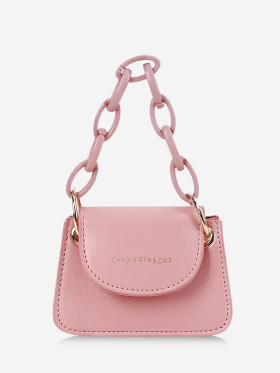 sale Chain Mini Cover Hand Bag - PIG PINK