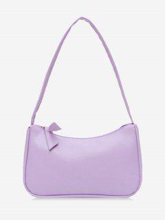 Brief Rectangle Shoulder Bag - Wisteria Purple