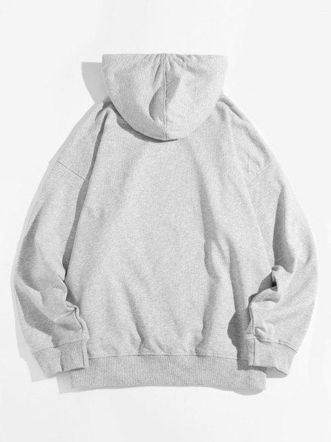 Camisola mangas curtas fora do ombro - Cinzento 4XL Mobile