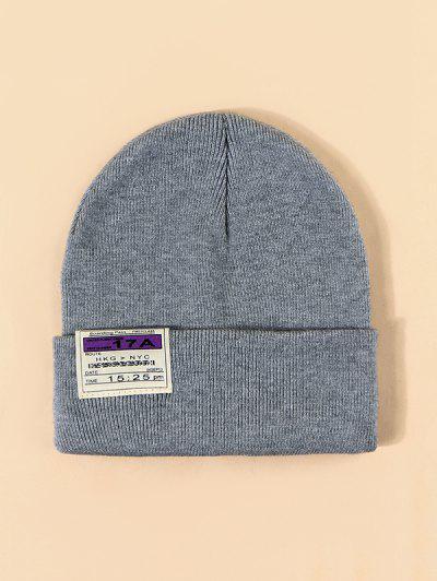 Трикотажная Шляпа С отложным краем - Светло-серый