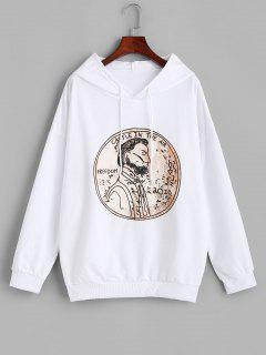 Figure Freedom Graphic Oversize Hoodie - White M