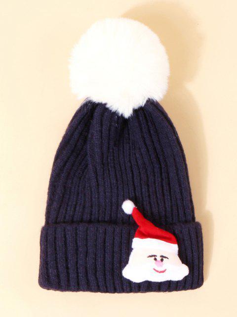 Cappello Natalizio con Stampa Babbo Natale - Cadetblue  Mobile