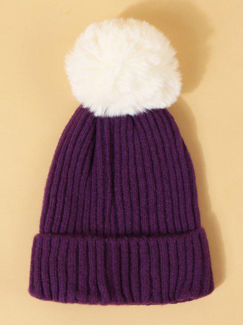 Cappello di Natale con Pompon - Iris Porpora  Mobile