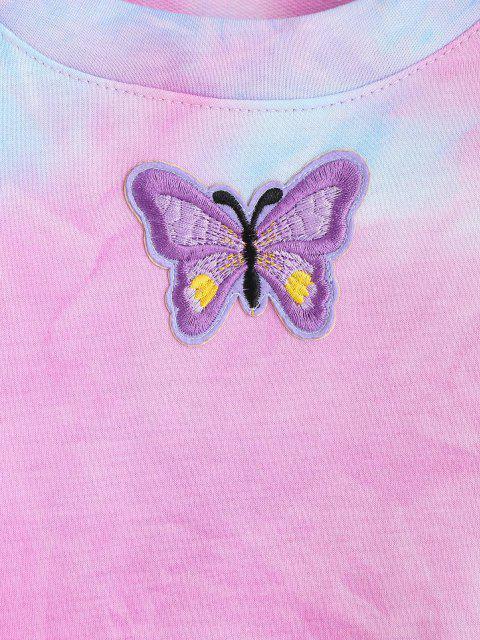 넥타이 염료 인쇄 나비 자수 운동복 - 다중 에스 Mobile