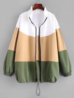 Schneidende Und Nähende Schnür Jacket - Multi M