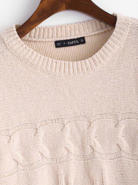 Maglione Pullover Di ZAFUL - Rosa Taglia unica Mobile