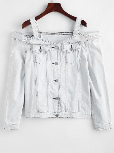 Giacca Di Jeans Con Spalle Scoperte - Acqua XL Mobile