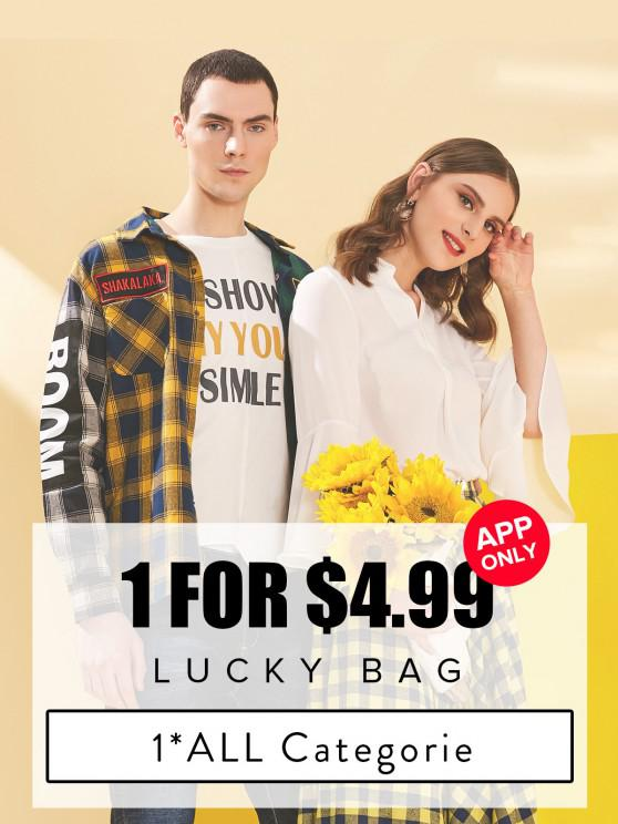 affordable ZAFUL Lucky Bag - 1 Random Item Included - For All Categories - Limited Quantity - MULTI S