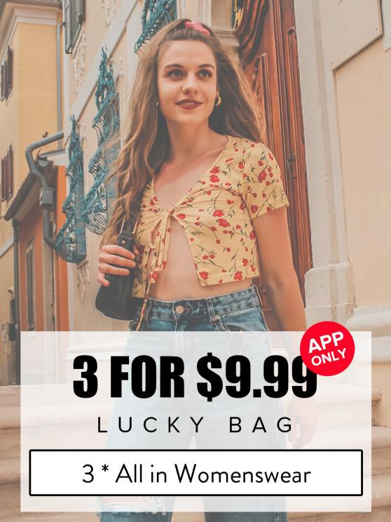 ladies ZAFUL Lucky Bag - 3*All In Womenswear - Limited Quantity - MULTI L