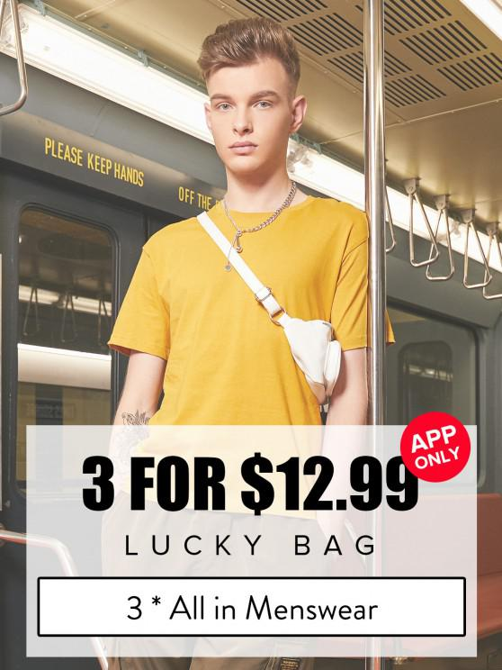 best ZAFUL Lucky Bag - 3*All In Menswear - Limited Quantity - MULTI S