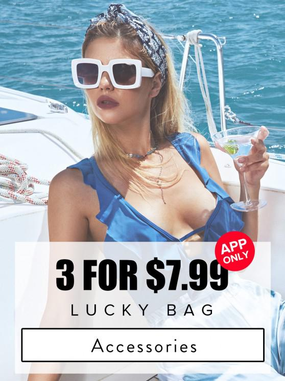 shops ZAFUL Lucky Bag - 5 Random Item Included - Only Jewelry & Hair Accessories - Limited Quantity - MULTI