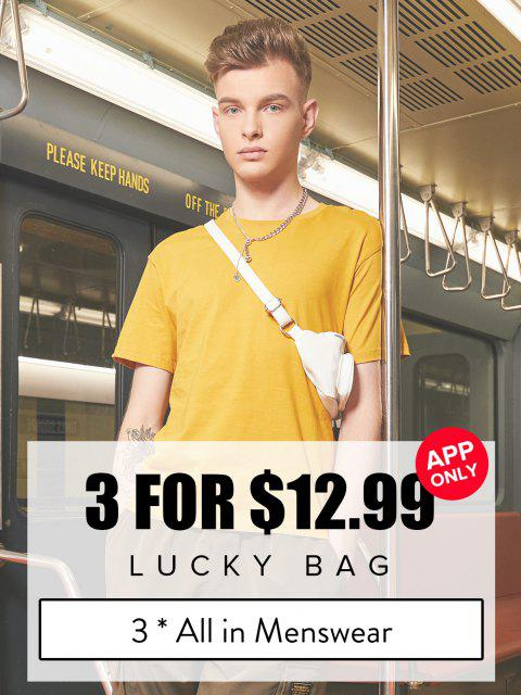 best ZAFUL Lucky Bag - 3*All In Menswear - Limited Quantity - MULTI S Mobile
