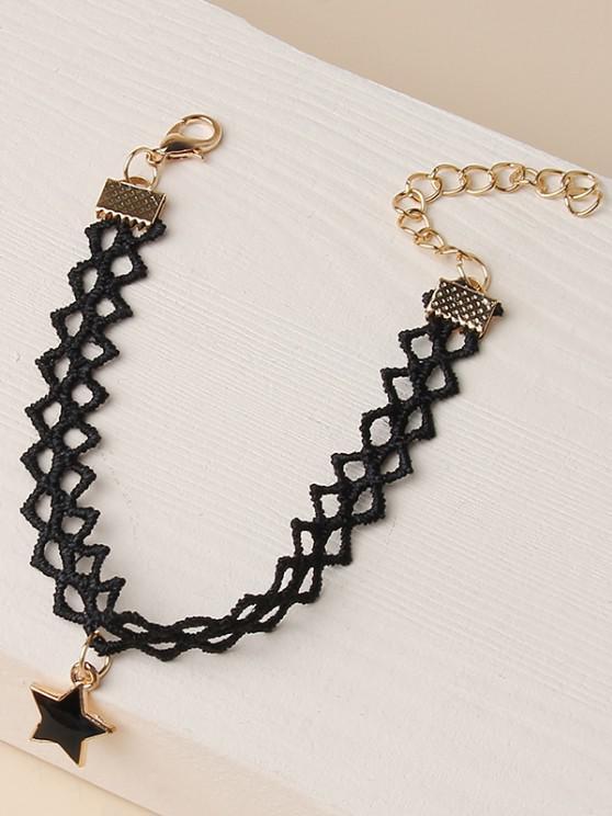 best Star Shape Lace Bracelet - GOLDEN