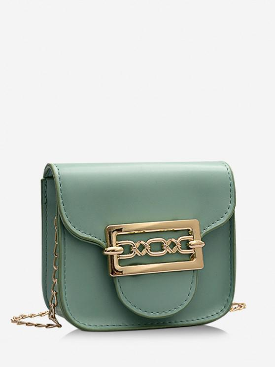 women's Cute Chain Mini Candy Crossbody Bag - SEA GREEN