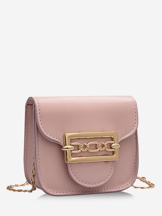 ladies Cute Chain Mini Candy Crossbody Bag - PIG PINK
