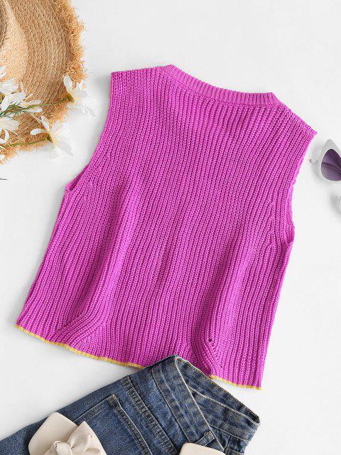 Vindo colhida Sweater sexta-feira  's - Vermelho escuro Um Tamanho Mobile