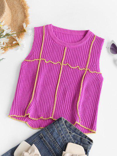 Vindo Colhida Sweater Sexta-feira  's - Vermelho Escuro