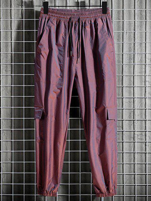 Pantalones Jogger Bolsillos y Cordones - Ladrillo Refractario M Mobile