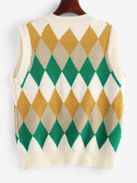 Camisola suéter impressa banana - Luz amarela Um Tamanho Mobile