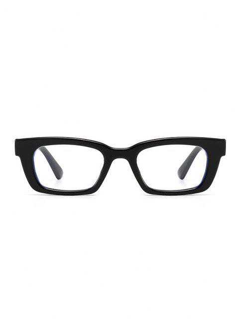 Gafas de Sol Estrechas Huecos - Negro Azabache  Mobile