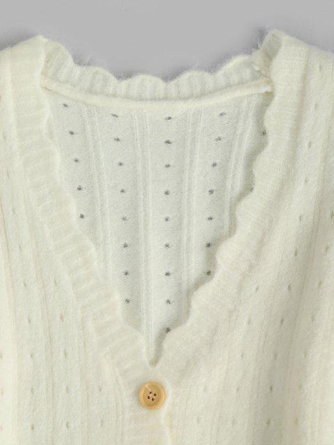 Gola V eu gosto de cães camiseta - Branco Um Tamanho Mobile