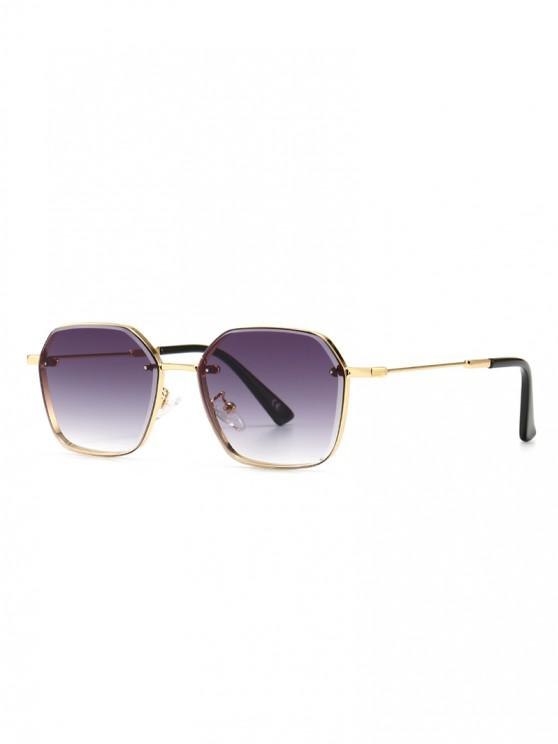 buy Metal Anti UV Irregular Sunglasses - CONCORD