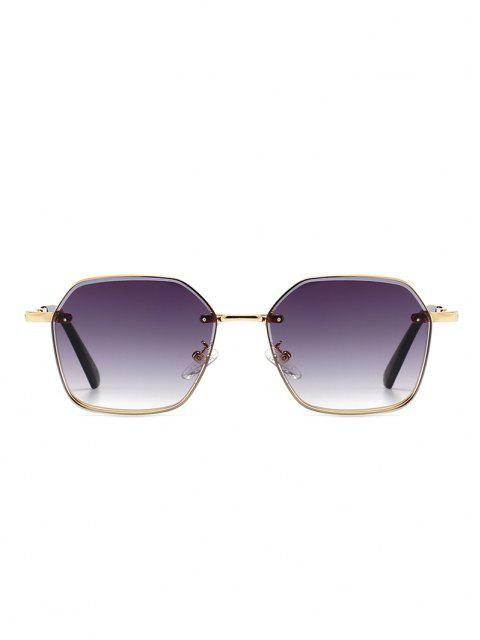 buy Metal Anti UV Irregular Sunglasses - CONCORD  Mobile