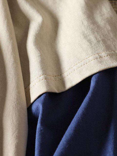 Vindo colhida camiseta sexta-feira  's - Cor de Caqui M Mobile