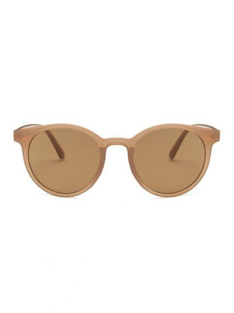 shop Retro Round UV Protection Sunglasses - SEPIA  Mobile