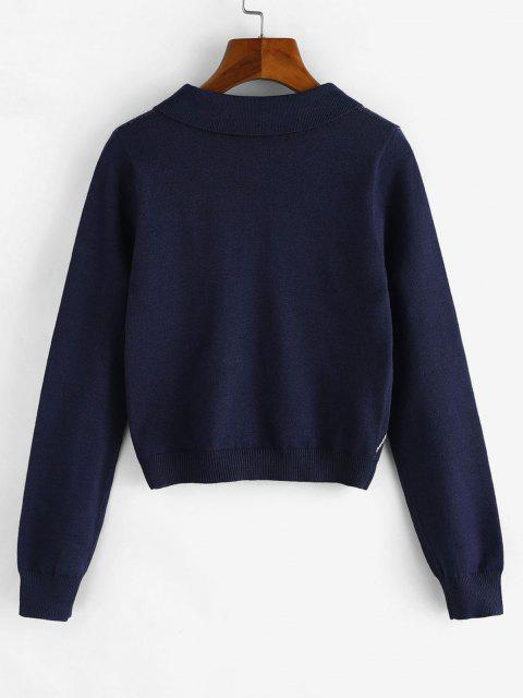 Pull Court Losange - Cadetblue M Mobile