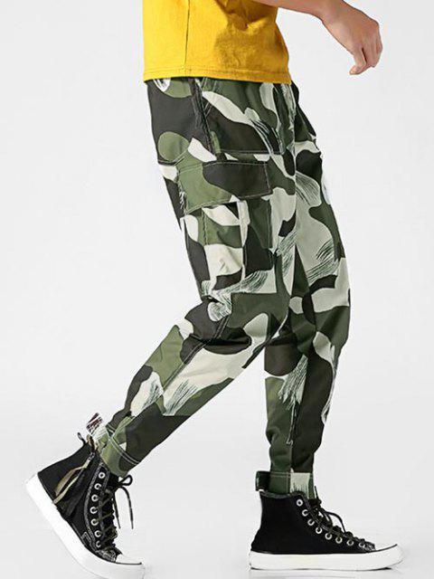 Pantalones Diseño Camuflaje Militar - Verde Camuflaje 3XL Mobile
