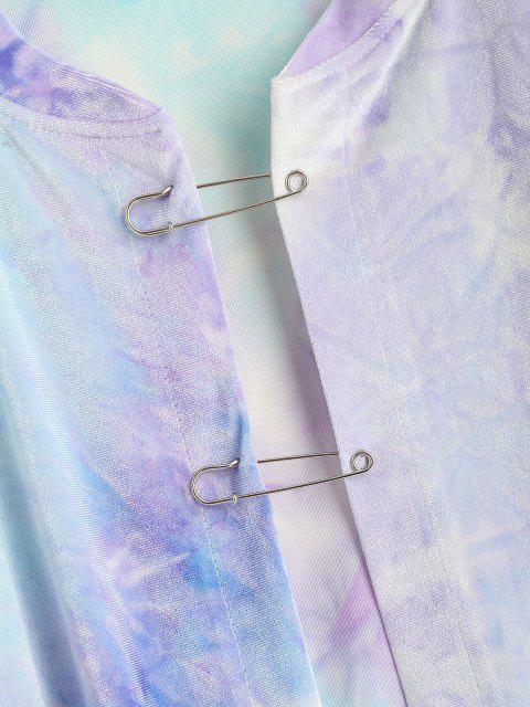 Sudadera Terciopelo Desteñido - Azul claro S Mobile