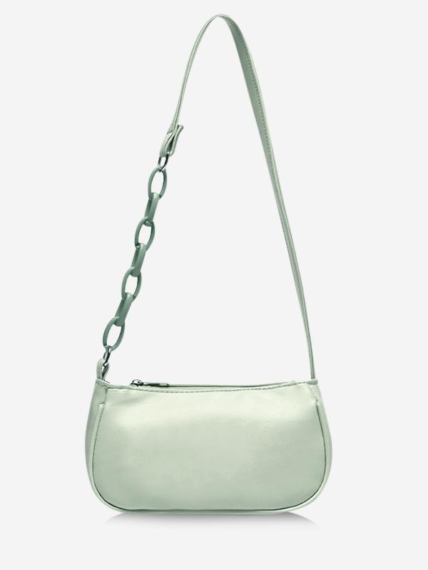 Solid Chains Shoulder Bag