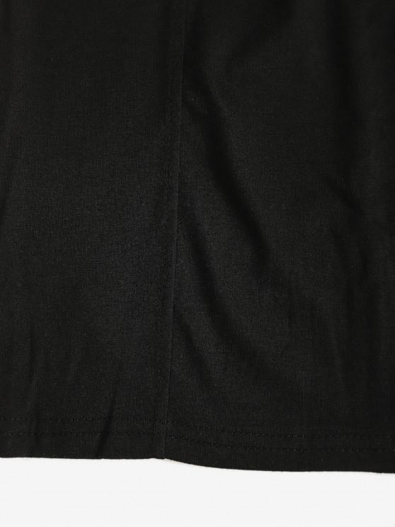 Padded Night Out Bodycon Cami Dress - Black M   ZAFUL