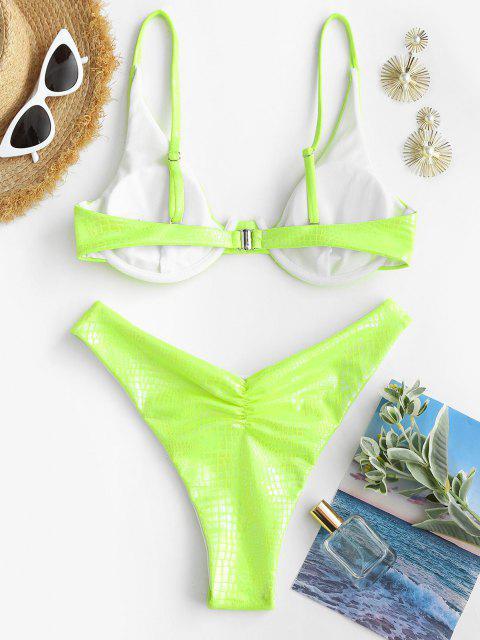 Bikini con Ferretto di ZAFUL - Verde S Mobile