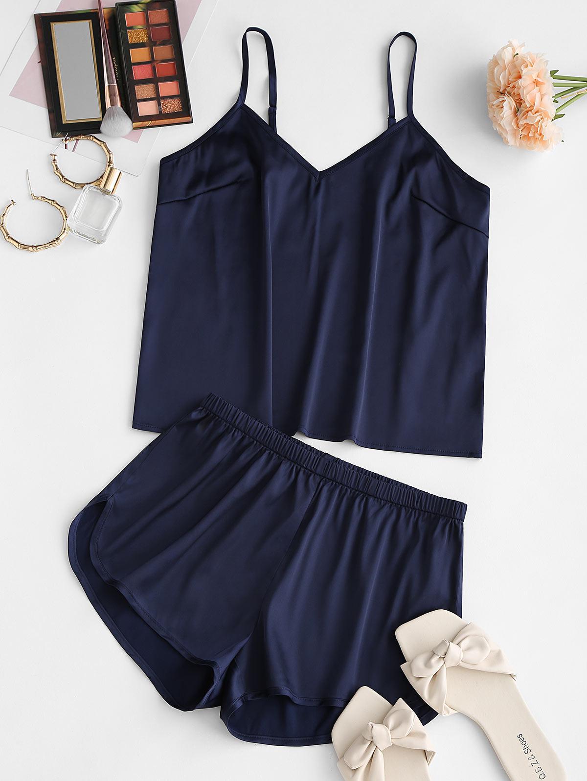 zaful Top and Shorts Set