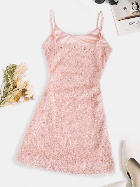 Vestido Cami Bodycon - Luz rosa S Mobile