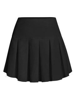 ZAFUL Pleated Mini Skirt - Black L